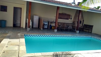 Photo for Beautiful house for weekends and season with pool and barbecue