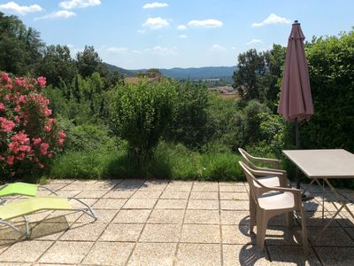 Photo for RENT T2 IN PEACE IN GARDEN CLOSED AND SECURE GARDEN CURE THERMALE / HOLIDAY