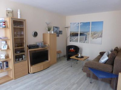 Photo for Duhner dune apartment 22, smoking, W-Lan, lift, roof terrace, close to the beach