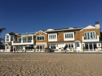 Photo for Newly Built Nantucket 5 Bedroom -- Luxury Living Right On The Sand