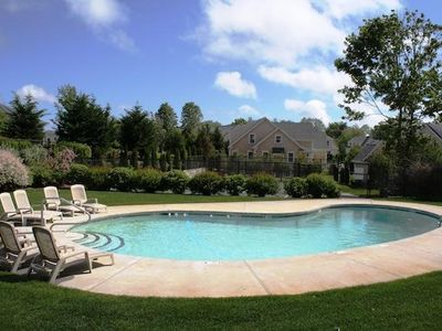 Photo for Captain's Row - Chatham Townhome with Community Pool and Tennis -Central Air!