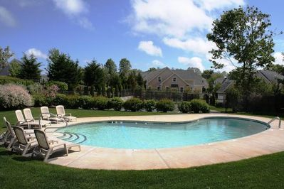 Welcome! Enjoy the community pool at 2 Captains Row, only a few steps from the home- 2 Captains Row E Chatham Cape Cod New England Vacation Rentals