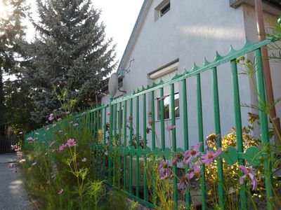 House with garden and terrace in a silent area of Siófok city