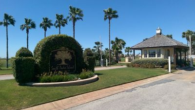 Entrance to the Golf Course