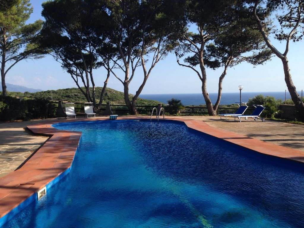 Oasis of peace with swimming pool overlooking the sea - Alghero