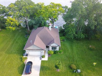 Photo for Lake Wisconsin stunner! 4 bed/3 bath gorgeous home.