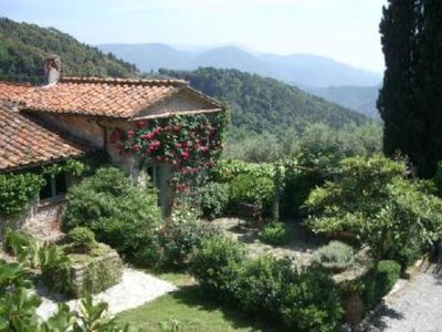 Photo for Old house in the countryside of Lucca, very close to the sea. Free Wi-Fi.