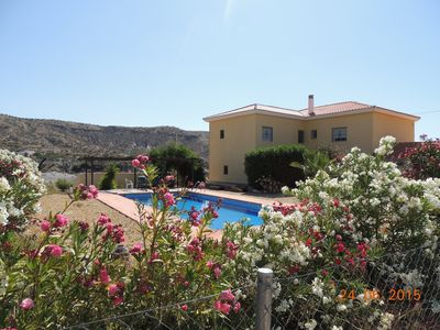 Photo for 6 person apartment in a large country house with swimming pool