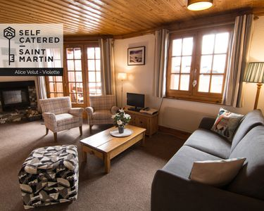 Photo for Chalet Alice Velut - Violette | 2-bedroom apartment <40m from ski lift