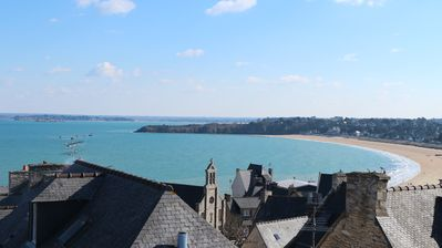 Photo for SEA VIEW-CAST-ST MALO-DINARD 8 PEOPLE