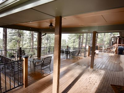 Photo for Cozy  Cabin With Great Views, Awesome Deck and A/C