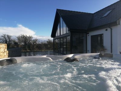 Photo for Brand new Holiday with hot tub, cinema room, log burner and pet friendly