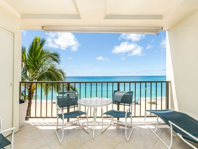 Photo for PRINCESS BEACHFRONT CONDO-SUPER CLEAN 2-REMODELED-FREE PKG/WiFi/AWESOME VIEW!