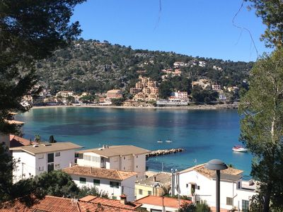 Photo for Port Sóller beautiful house, great views, 3 'to the beach, BBQ