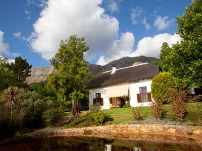 Photo for Pure pampering on an olive farm surrounded by fynbos nature and vineyards