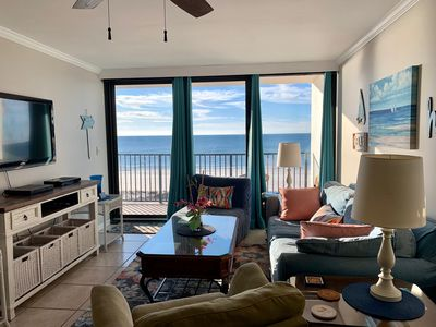 Photo for Downtown Beachside Condo with a View, Pool & Grill & Renovated Bathrooms!