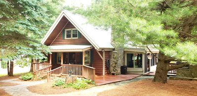 Photo for *NEW* Sugar Shack Retreat & Bubbling Jacuzzi atop the Blue Ridge Pkwy