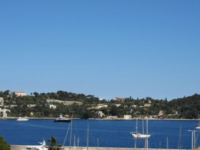Photo for Apartment 2 Rooms terrace 50 meters of sea view bay of Villefranche-sur-mer