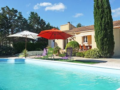 Photo for 3 bedroom Villa, sleeps 6 in Saint-Nazaire-d'Aude with Pool, Air Con and WiFi