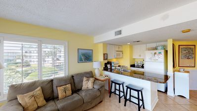 Photo for NEW LISTING! Gulf view condo w/ shared pools, hot tub, tennis, & beach access