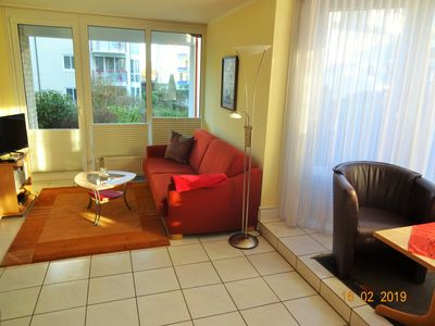 Photo for Centrally located comfortable apartment, WLAN; to the beach about 80 m. large terrace