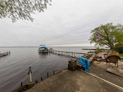 Photo for Beautiful Lakefront Home ~ Outstanding Sunsets ~ Includes Hot Tub!