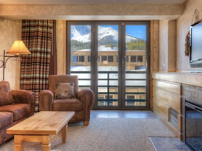 Photo for Big Sky Shoshone 4th Floor SKI-IN SKI-OUT condo with Lone Peak view and hot tub