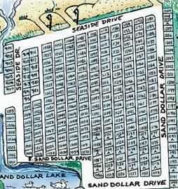 Myrtle Beach House Al Map Of The Section Ocean Lakes That Houses Are