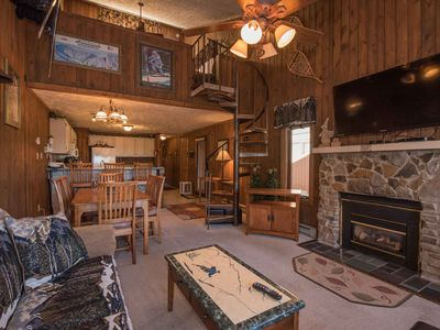 Photo for Pet friendly. Easy slope access, shuttle service, washer/dryer, and fireplace