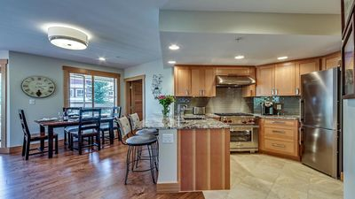 All wood custom kitchen cabinets, trim and finishings throughout.