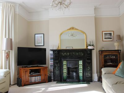 Photo for Spacious Victorian house, 4 bedrooms to sleep 8, close to beach and town centre.