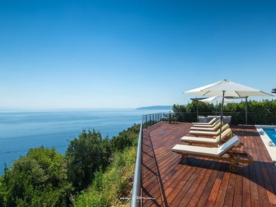 Photo for Stunning villa with spectacular sea view