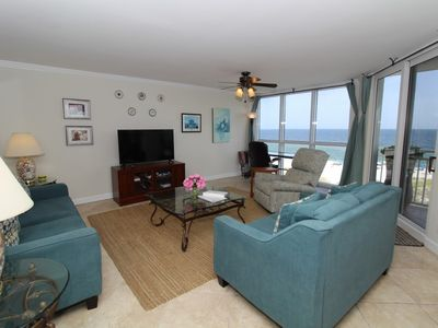 Photo for SeaSpray West 506- Beach Front Views from Terrace with Luxurious Interior!