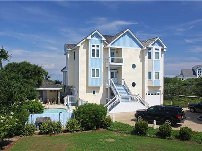Photo for Luxurious Custom Soundfront w/Pool&HotTub, Elevator, RecRoom