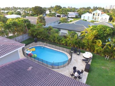 Photo for Luxury Home-Right across from Entrance to Beach, Close to rest, with a pool