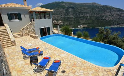 Photo for Secluded with Superb Sea Views, completely private and not overlooked
