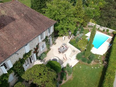 Photo for Massignieu De Rives: 19th Mansion with breathtaking mountain view
