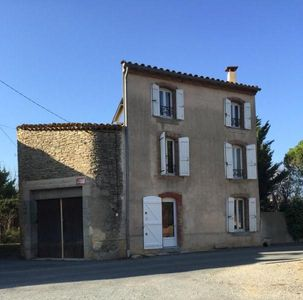Photo for Authentic vineyard house near Carcassonne and the Canal du Midi
