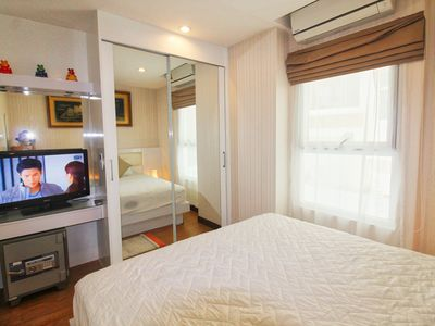 Photo for Direct Pool Access Apt. Nightlife and Family-friendly next to Jomtien beach!