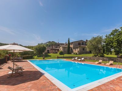 Photo for Four Bedroom Private Villa Pistoia area   Villa Angie is a beautiful 18th Century country villa in a