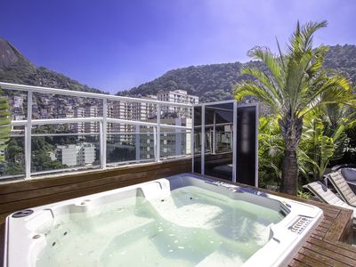 Photo for Penthouse in Copacabana with Jacuzzi up to 10 people