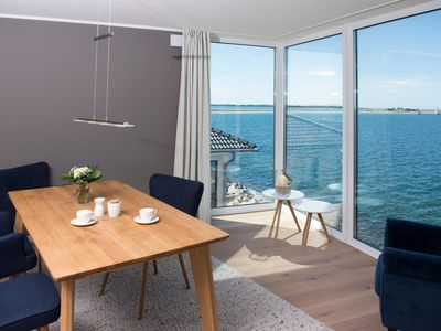 Photo for Modern-maritime apartment on the waves with spectacular views over di