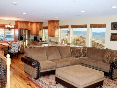 Photo for Amazing End Condo with unobstructed Panoramic Views of the entire Ogden Valley