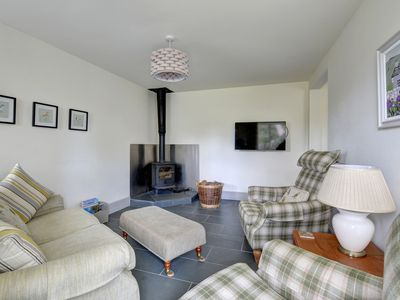 Photo for Shepherds Cottage is a stylish conversion in a riverside setting along with 4 other cottages which a