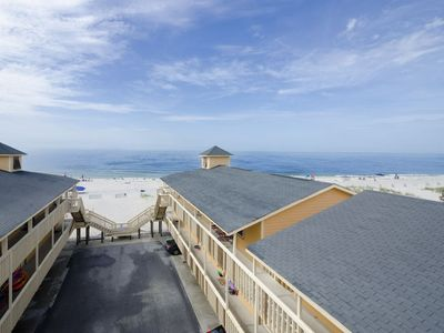Photo for Cute Gulf Shores Condo Directly On The Beach At Sunrise Village # 205 (New List)