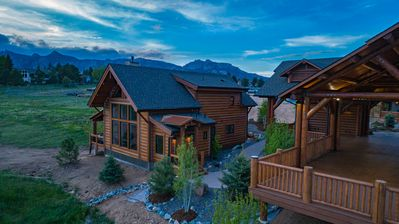 Photo for NEW LAKE FRONT CABIN ON LAKE ESTES