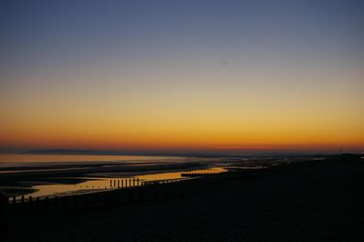 Sunset over Camber Sands