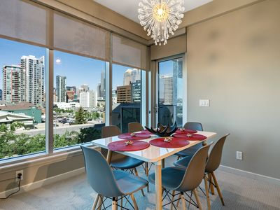 Photo for Modern 2 BD 2 BA Condo in DT. Free parking. Gym