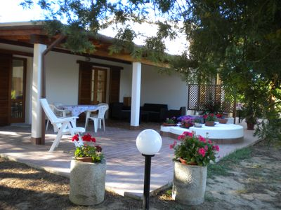 Photo for Nice studio in a semi-detached house with garden on the Island of Elba
