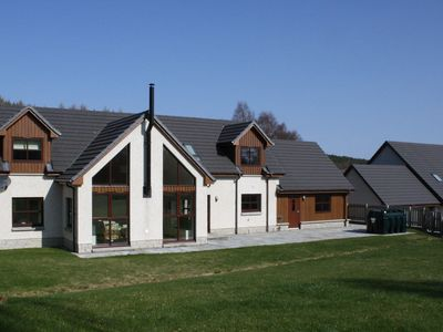 Photo for Pineways  - luxury, 4 bedroom, self-catering house in Aviemore